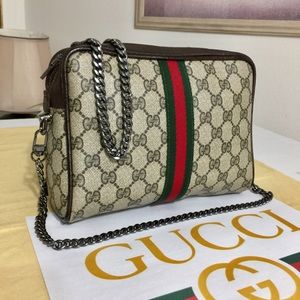 GUCCI GG PATTERN CLUTCH/CROSSBODY BAG 💼